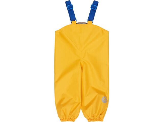 Finkid Pullea Spodnie przeciwdeszczowe Dzieci, yellow